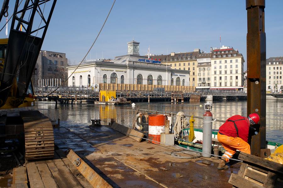 R novation du pont de la machine am nagements et constructions galeries photos photos et for Construction piscine geneve