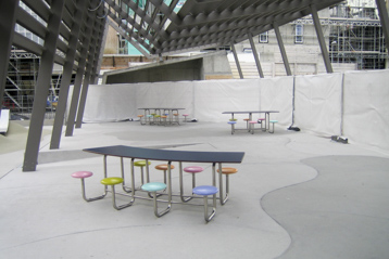 tables sous structure couverte