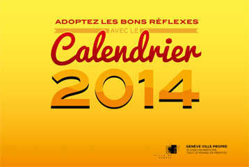 Calendrier voirie 2014