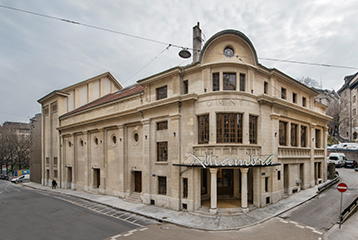 La r novation de l alhambra est termin e ville de gen ve site officiel for Construction piscine geneve