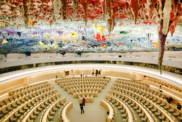 Le Palais Des Nations Ouvre Ses Portes