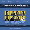 Affiche : Stand up for Migrant