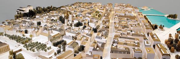 La maquette de la ville de gen ve urbanisme et planification am nagement construction et for Construction piscine geneve