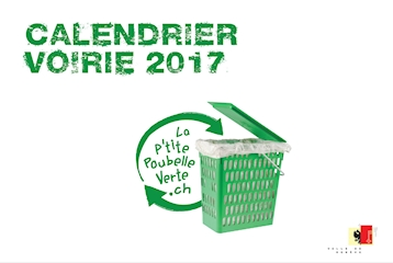 Calendrier Voirie 2017