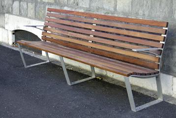 Banc gen ve mobilier urbain am nagement de l 39 espace for Mobilier urbain espace public
