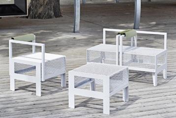 Assises pour l le rousseau ar2012 mobilier urbain for Mobilier urbain espace public