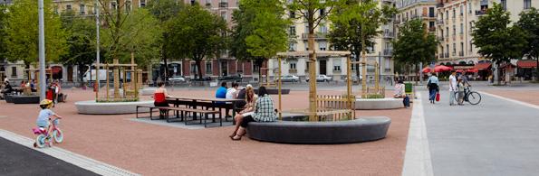 Amenagement espace urbain for Mobilier urbain espace public