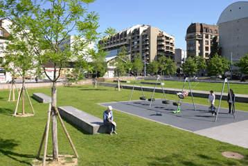 Am nagement du parc des chaumettes r alisations for Offre espace vert