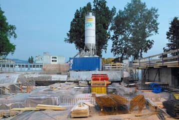 Installations de chantier chantiers utilisation de l for Chantier espace vert